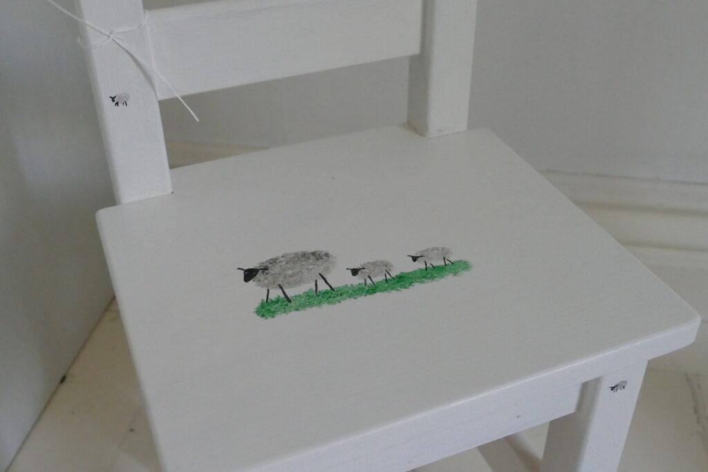 doppresent barnstol